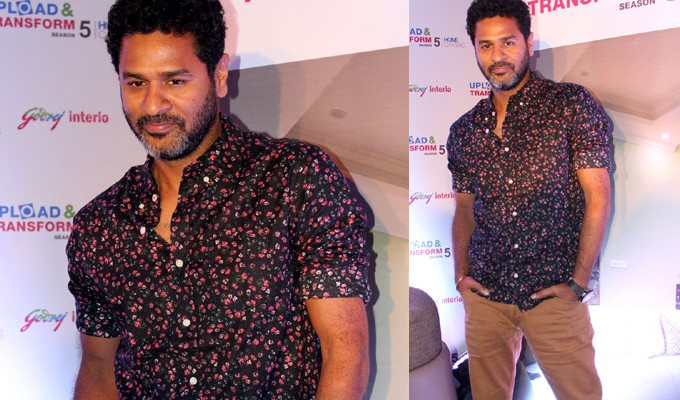 Prabhu Deva Launches Season 5 of Upload and Transform Photos